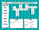 Dolch Sight Word Crossword Puzzles Pre-Kindergarten