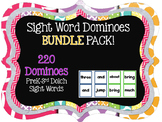 Sight Word Domino BUNDLE Set #springsavings