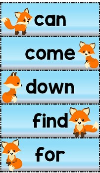 Dolch Sight Word  Exercise