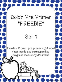 Dolch Sight Word FREEBIE