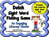 Dolch Sight Word Fishing Game {220 Sight Words}