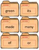 Dolch Sight Word Flash Cards~ 2nd Case Files