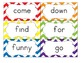 Dolch Sight Word Flash Cards with Nouns 316 cards - Bold P
