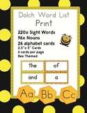 Dolch Sight Word Flash Cards with Nouns 316 cards - Print