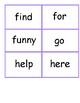 Dolch Sight Word Flashcard Bundle