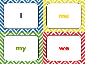 Dolch Sight Word Flashcards (Pre-Primer)