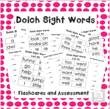 Dolch Sight Word Pack