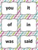 Dolch Sight Word Flashcards for Building Reading Fluency -