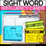 Sight Word Fluency Task Cards