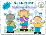 Dolch Sight Word Game (Primer)