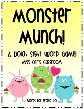 Dolch Sight Word Game 1st-3rd