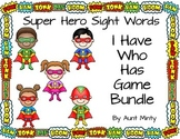 Dolch Sight Word Game Bundle. I Have Who Has Games: Pre-pr