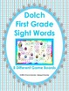 Dolch Sight Word  Games (First Grade Words)
