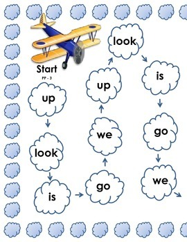 Dolch Sight Word  Games (Pre-Primer Words)