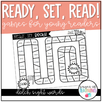 Dolch Sight Word Games: Ready, Set, Read!