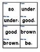 Dolch Sight Word I Have, Who Has Bundle (5 Games)