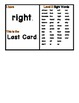 Dolch Sight Word I Have, Who Has (Level 2)