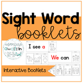 Dolch Sight Word Interactive Booklets
