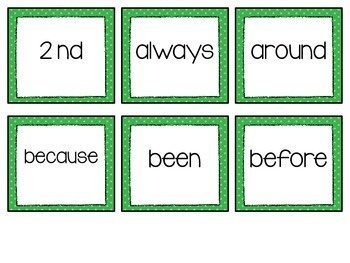 RTI: Dolch Sight Word Intervention Pack (2nd Grade)