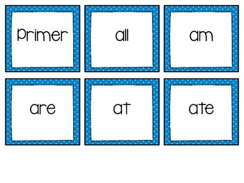 RTI: Dolch Sight Word Intervention Pack (Primer)