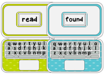 Dolch Sight Word Laptops