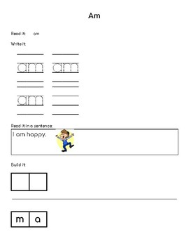 Dolch Sight Word - Learning Through Exposure - Workbook