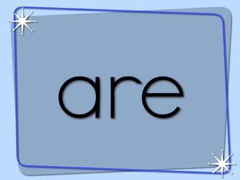 Dolch Sight Word List 2 (Primer) Video Flash Cards (Manuscript)