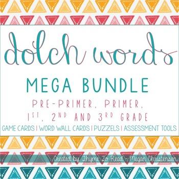 Dolch Sight Word Mega Bundle