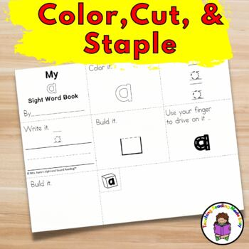 Sight Word Fluency Mini Book Worksheet  Bundle (Dolch list)