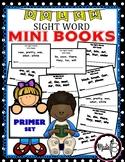 Dolch Sight Word Mini Books - PRIMER SET