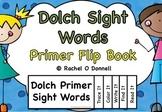 Sight Word PRIMER FLIP BOOK Sample
