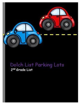Dolch Sight Word Parking Lot Practice or Assessment BUNDLE