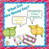 Sight Word Phrase Game PrePrimer-1st Grade