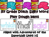 Dolch Sight Word Play Dough Mats for Superkids