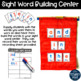 Dolch Sight Word Pocket Chart Cards BUNDLE