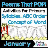 January Poems & Shared Reading