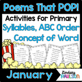 January Poems & Shared Reading