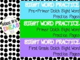 Dolch Sight Word Practice Bundle