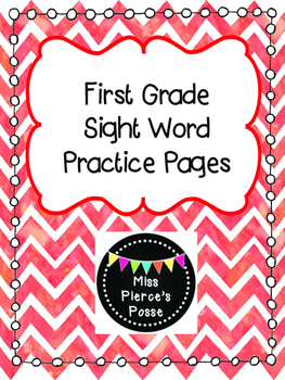 Dolch Sight Word Practice: First Grade