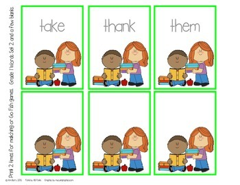 Dolch Sight Word Practice - Grade 1 Words