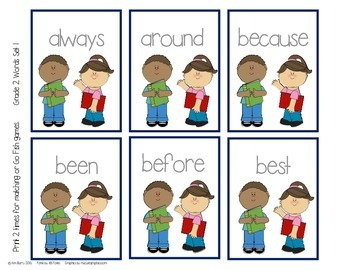 Dolch Sight Word Practice - Grade 2 Words