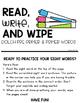 Dolch Sight Word Practice {Pre-Primer Primer}
