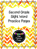 Dolch Sight Word Practice: Second Grade