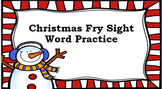 Dolch Sight Word Practice for Christmas Break!