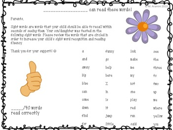 Dolch Sight Word Pre-Primer and Primer Lists-Bundle of Activities