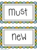 Dolch Sight Word (Primer) Word Wall