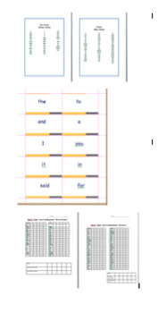 Dolch Sight Word Progress Monitor Kit