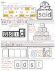 Dolch Sight Word Quick Practice Pre-Primer Words