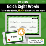 Dolch Sight Word Quiz (1st Grade) - Distance Learning With