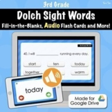 Dolch Sight Word Quiz (3rd Grade) - Distance Learning With